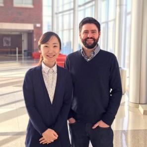 Image of Jiyoon Lee, PhD, and Karl Koehler, PhD
